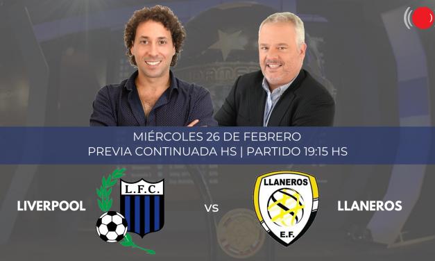 Liverpool y Llaneros se enfrentan por la Copa Sudamericana