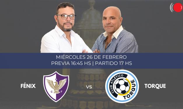 Fénix y Torque se enfrentan en Torneo Apertura