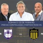 Defensor y Peñarol se enfrentan por el Torneo Apertura