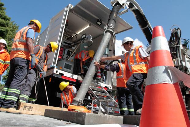 Nueva tecnología para reparar la Red Arteaga de saneamiento