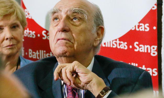 """Sanguinetti: """"En el FA aparece gente reclamando como si el gobierno actual estuviera hace 20 años"""""""