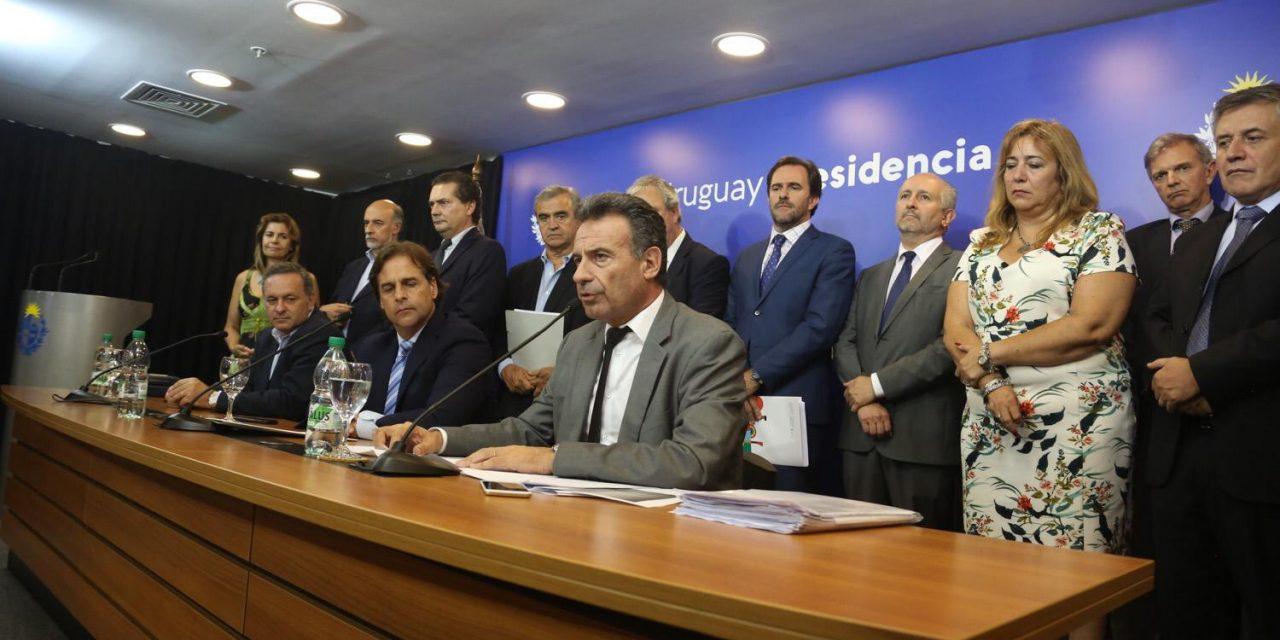 Presidente Lacalle Pou y parte del gobierno se realizan test de Covid-19