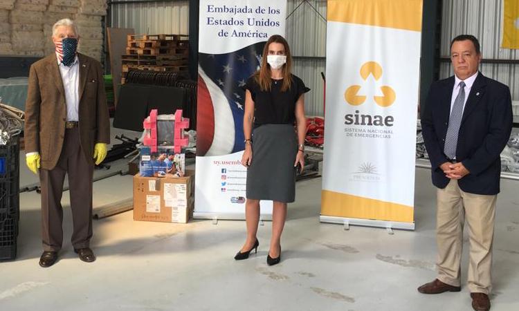 Estados Unidos donó equipamiento médico e insumos al SINAE