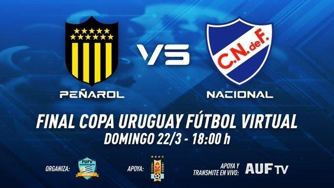 Nacional le ganó a Peñarol y es campeón virtual del fútbol uruguayo