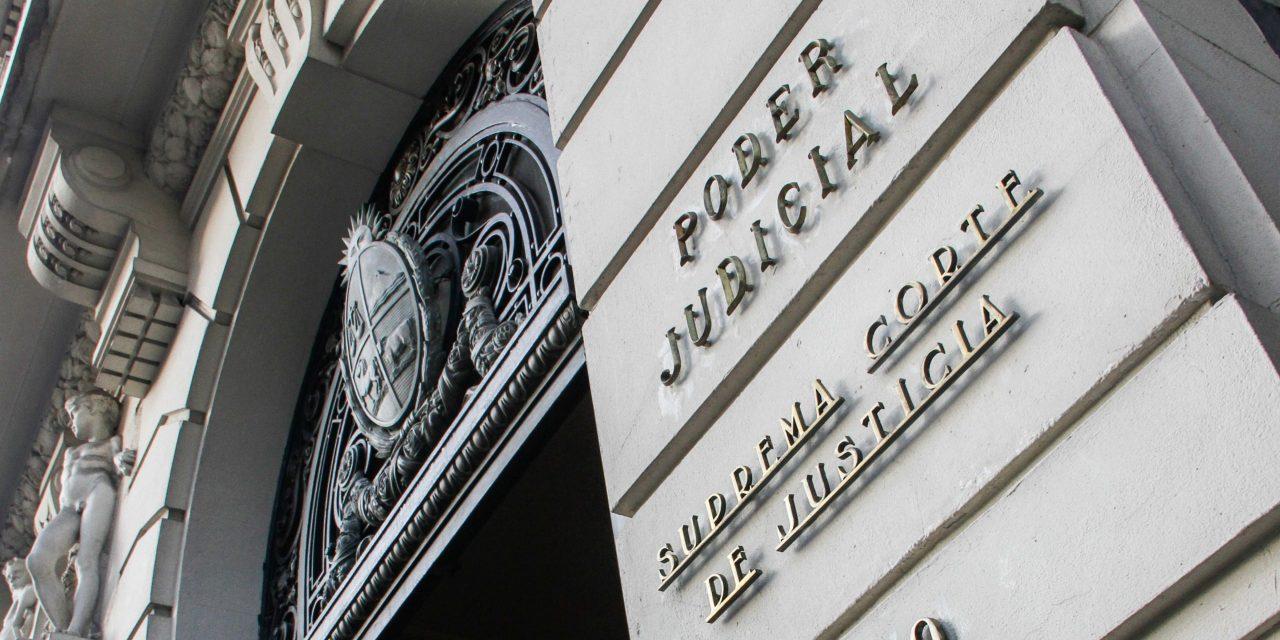 """Funcionarios judiciales advierten por artículo de Presupuesto que """"congela"""" sus salarios por cinco años"""