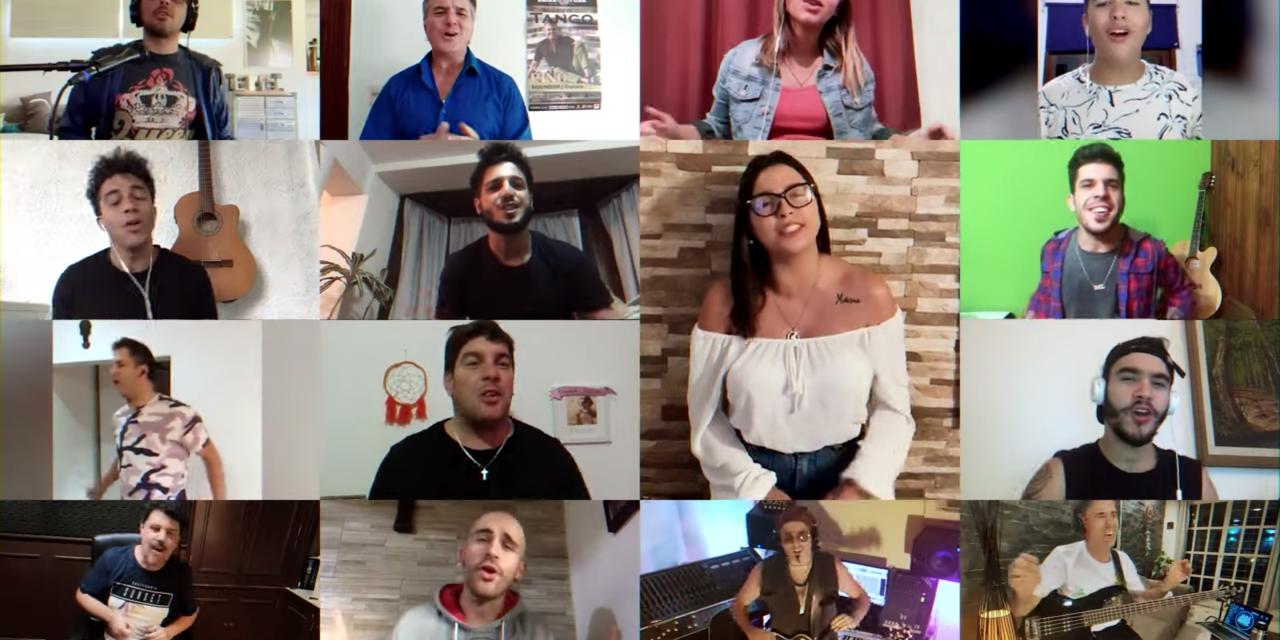 """""""Yo vengo a ofrecer mi corazón"""": la canción que entonaron los artistas uruguayos para colaborar con las ollas populares"""