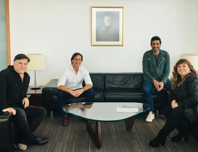 Músicos se reunieron con Lacalle Pou en busca de reactivar el sector