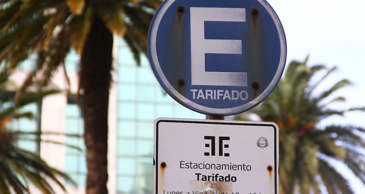 El próximo lunes se restablece el cobro del estacionamiento tarifado