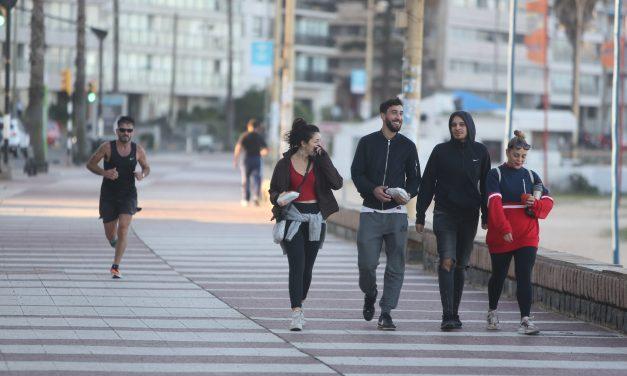 La rambla de Montevideo volverá a ser peatonal este domingo