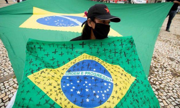 Brasil registra su menor promedio de muertes por coronavirus desde febrero