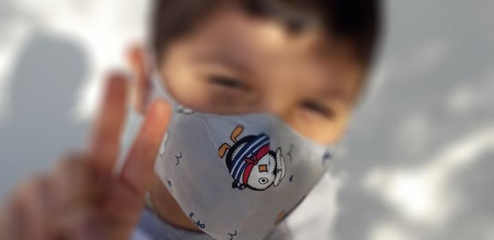 Uso de mascarilla pediátrica ante el anuncio del retorno a clases