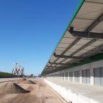Orsi visitó las obras del Parque Agroalimentario, y comentó su valor