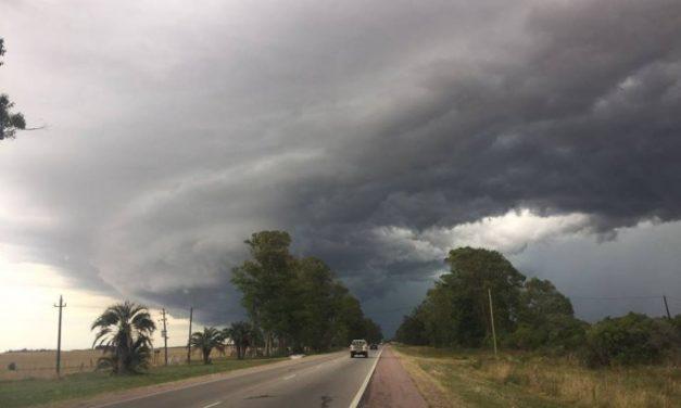 Inumet cesó la advertencia meteorológica pero mantiene aviso sobre lluvias y tormentas