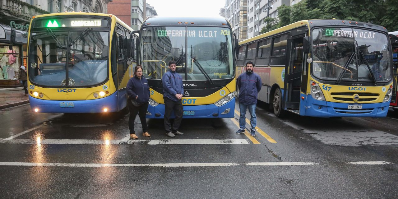 Cooperativas del Transporte entregaron carta al gobierno contra rebaja salarial que propone la IM