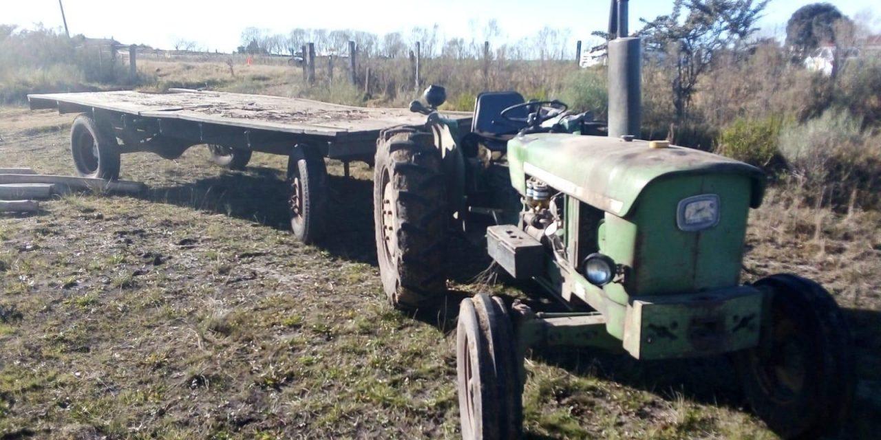 Una mujer y un niño fallecieron tras chocar contra un tractor en ruta 81