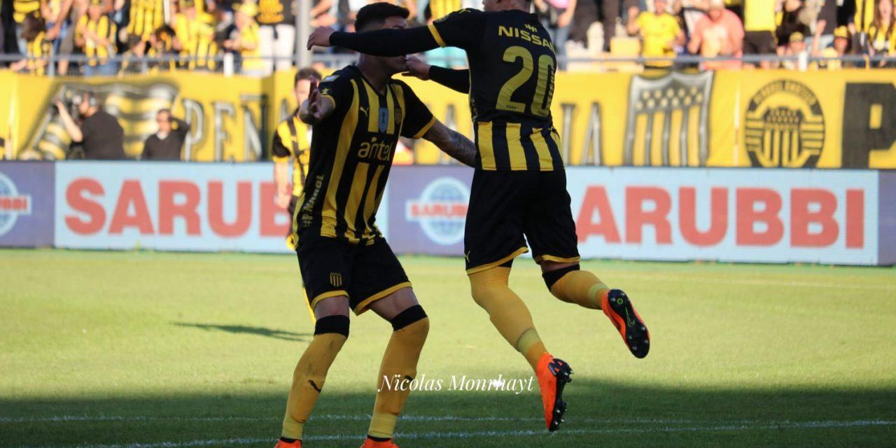 Peñarol ganó y se suma a los de arriba