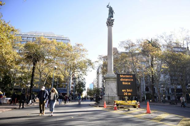 Intendencia habilitará espacios libres de motores en Parque Batlle, Prado, Rivera y Rodó