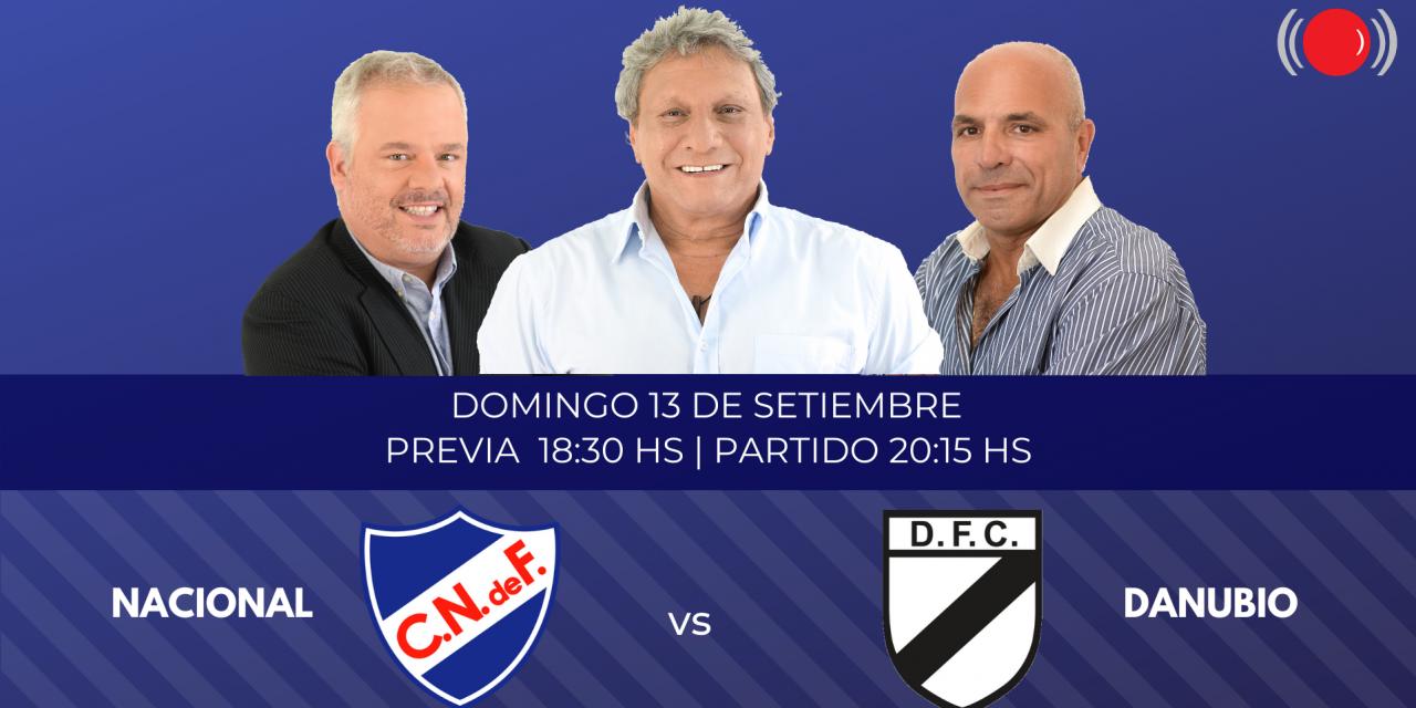 Nacional y Danubio se enfrentan por el Torneo Apertura