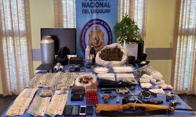 Operativo policial finalizó con varios detenidos y más de 22 kilos de cocaína incautados