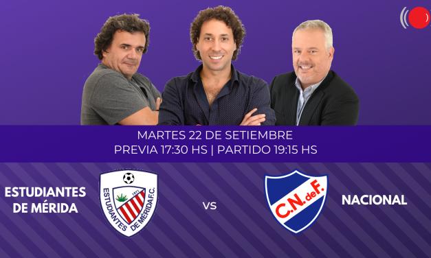 Estudiantes de Mérida y Nacional se enfrentan por la Copa Libertadores