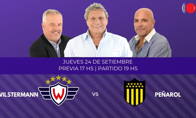 Wilstermann contra Peñarol por la Copa Libertadores