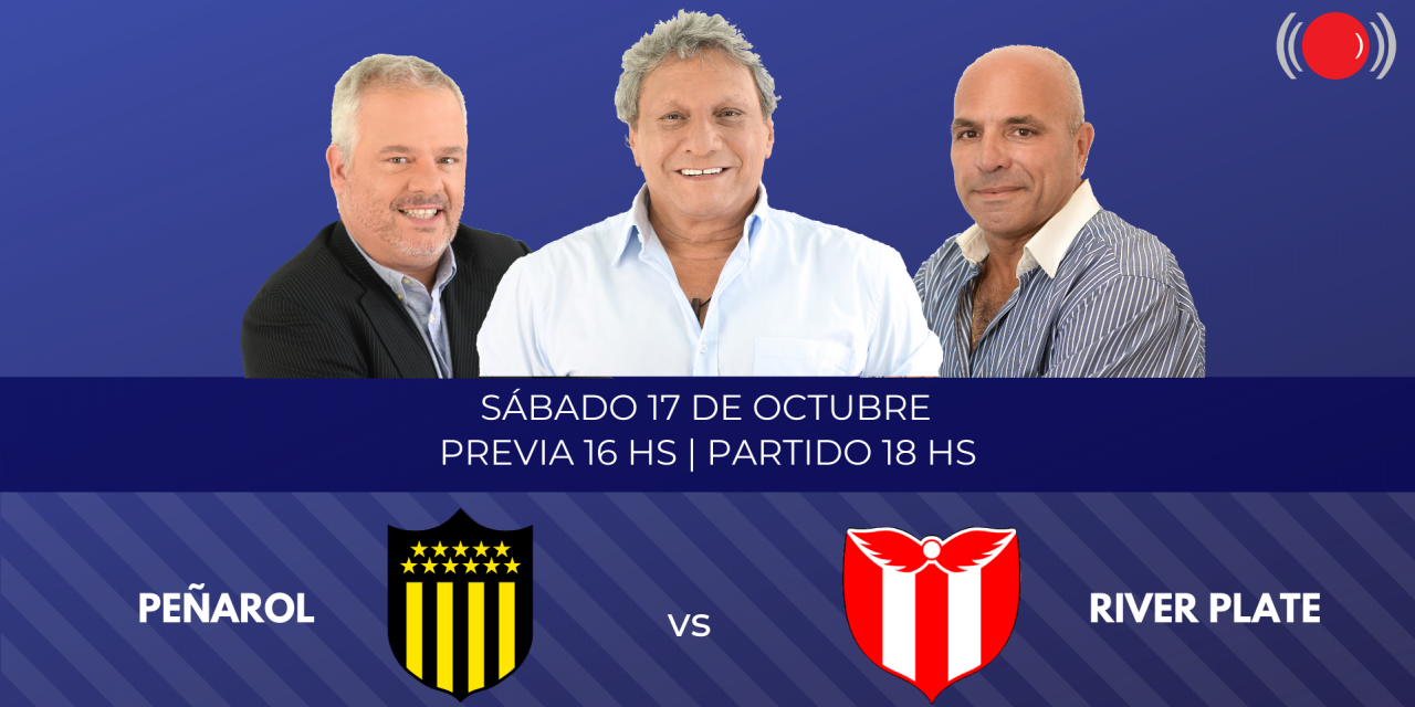 Peñarol y River Plate se enfrentan por el Torneo Intermedio