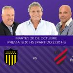 Peñarol contra Athletico Paranaense por la Copa Libertadores