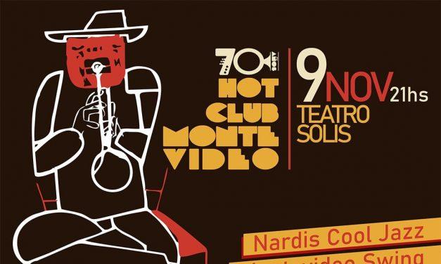 Hot Club de Montevideo celebra 70 años con un show en Teatro Solís