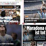 ¿Qué dijo Luis Lacalle Pou sobre el fallecimiento de Diego Maradona?