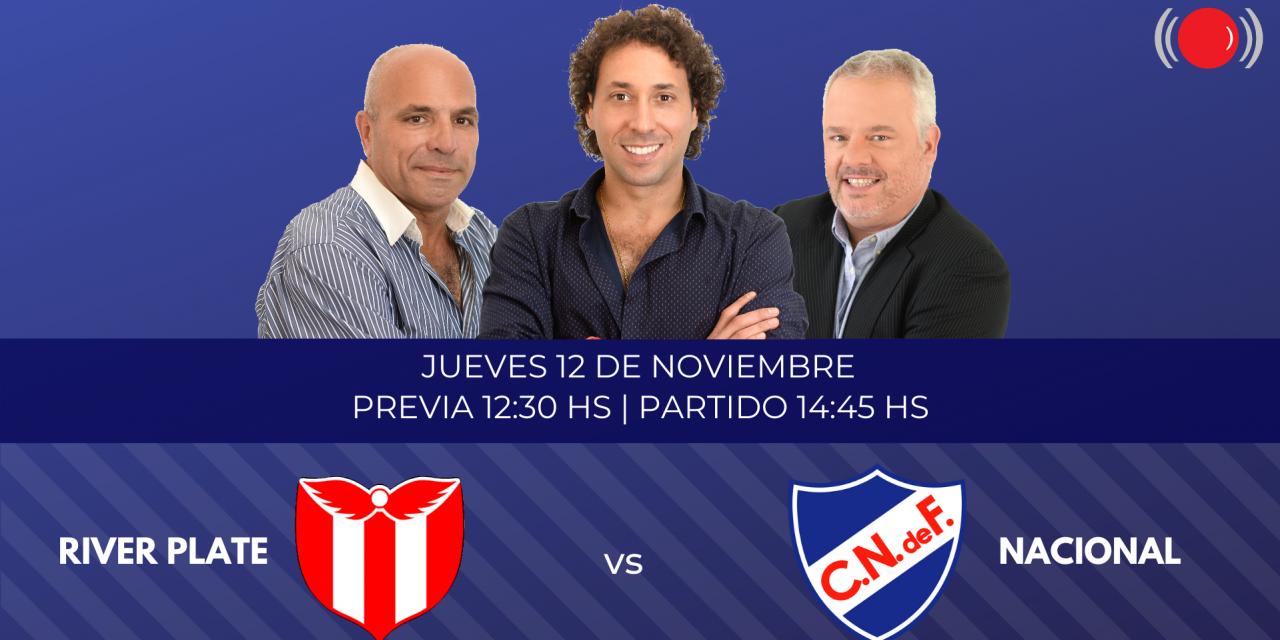 River Plate contra Nacional por el Torneo Intermedio
