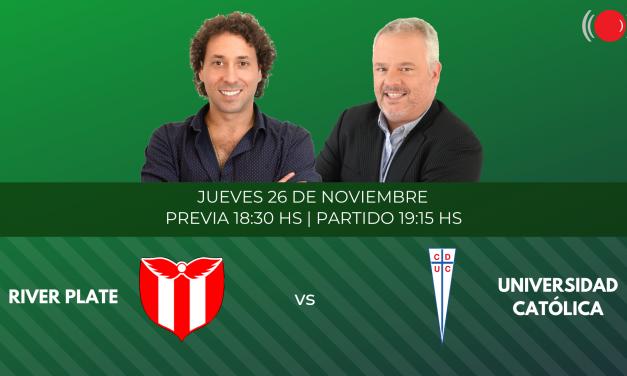 River Plate contra Universidad Católica por la Copa Sudamericana