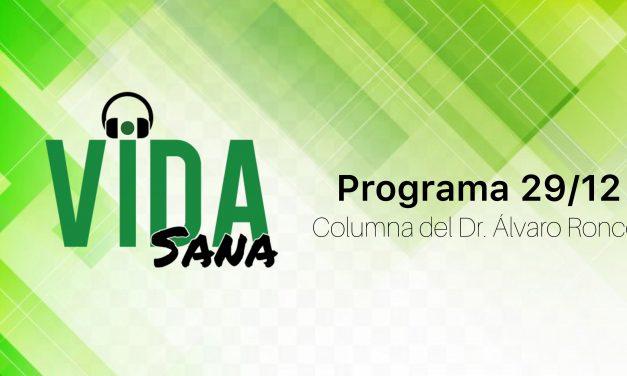Columna del Dr. Álvaro Ronco en Vida Sana.