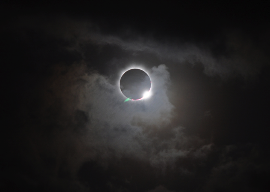 Este lunes se podrá observar un eclipse parcial de sol