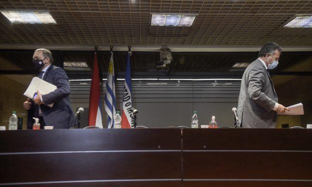 El gobierno dio una señal de unidad y parece haber surfeado la crisis entre el MSP y la torre Ejecutiva