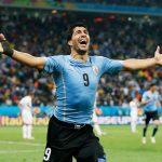 Luis Suárez celebró su cumpleaños con gol