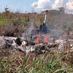 El presidente y cuatro jugadores de un club brasileño mueren en un accidente de avión