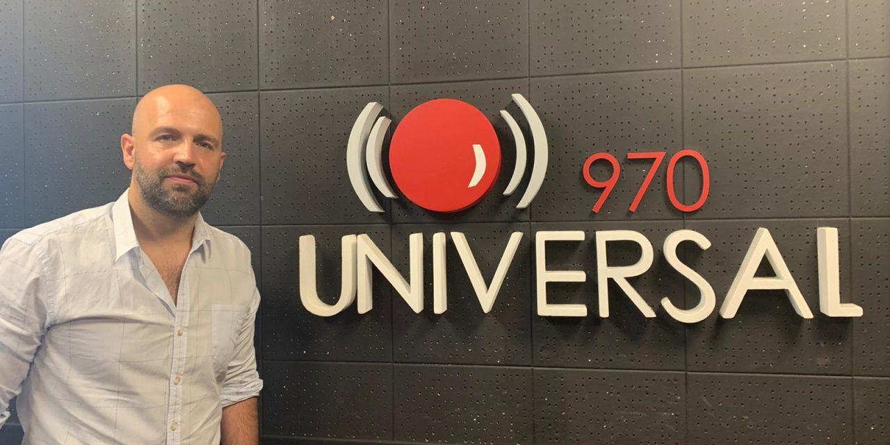 Mariano López se incorpora al equipo periodístico de Radio Universal