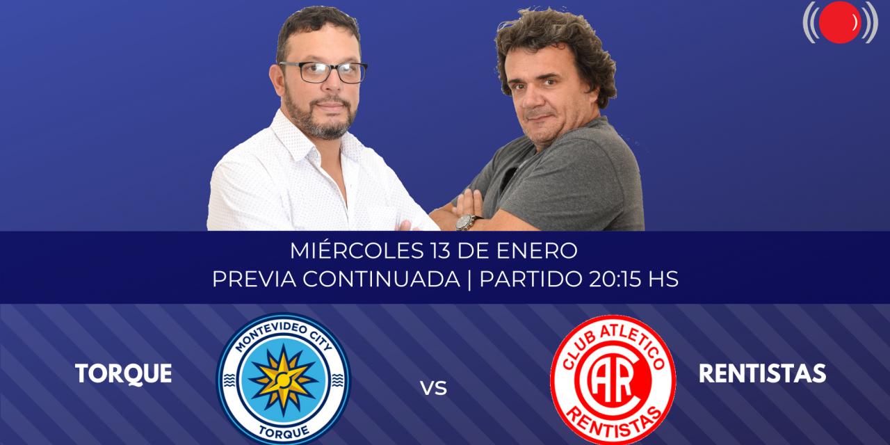 Montevideo City Torque se enfrenta a Rentistas