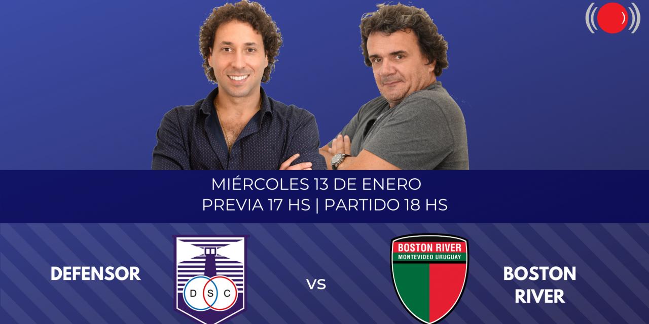 Defensor contra Boston River por el Campeonato Uruguayo