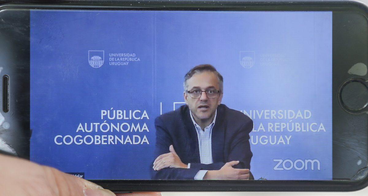 Universidad de la República alerta por dificultades en la inscripción de la generación 2021
