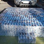 Se incautaron cigarrillos de contrabando valuados en más de 700 mil pesos