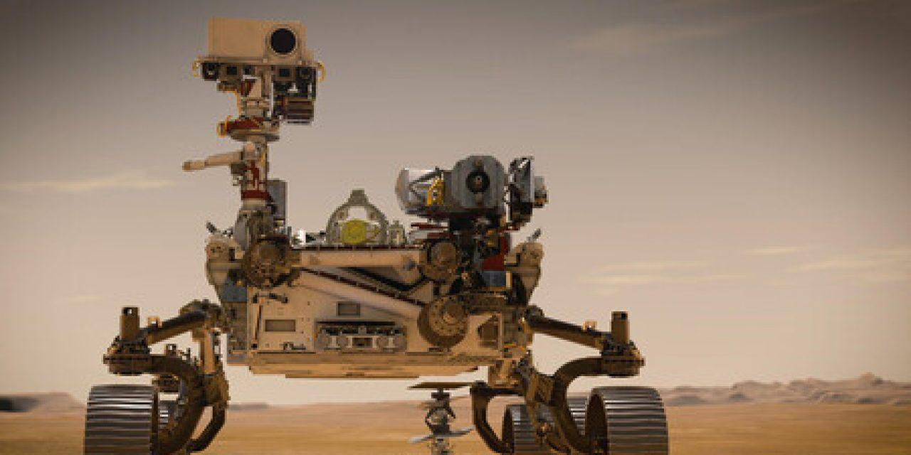 """La llegada del robot de la NASA """"Perseverance"""" a Marte"""