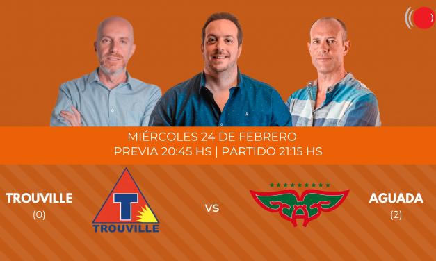 Trouville contra Aguada en la tercera final de la Liga Uruguaya de Basketball