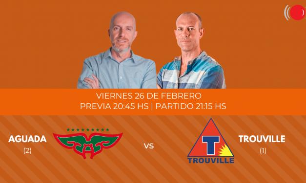 Aguada contra Trouville en la cuarta final de la Liga Uruguaya de Basketball