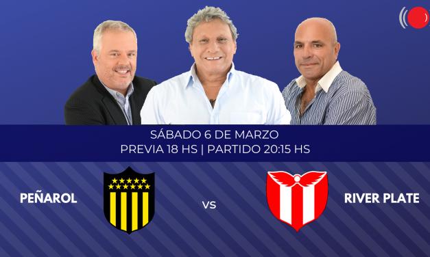 Peñarol se enfrenta a River Plate por la fecha 11 del Torneo Clausura