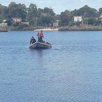 Armada Nacional busca al futbolista Franco Acosta que desapareció en aguas del Arroyo Pando