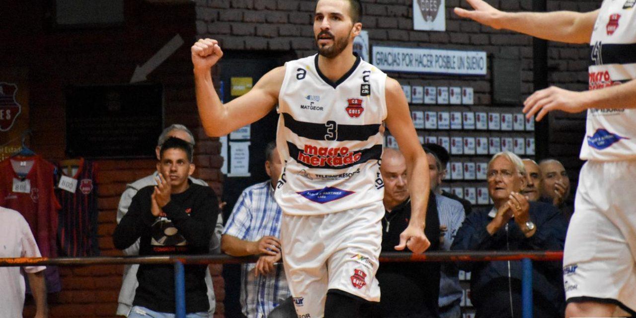 """Joaquín Osimani: """"Soy muy positivo, quiero ganar el campeonato con Goes, el objetivo es tratar de llegar lo más arriba posible"""""""