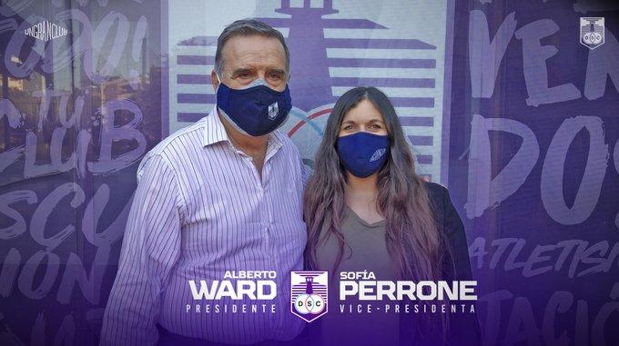 Alberto Ward fue electo como presidente Defensor Sporting