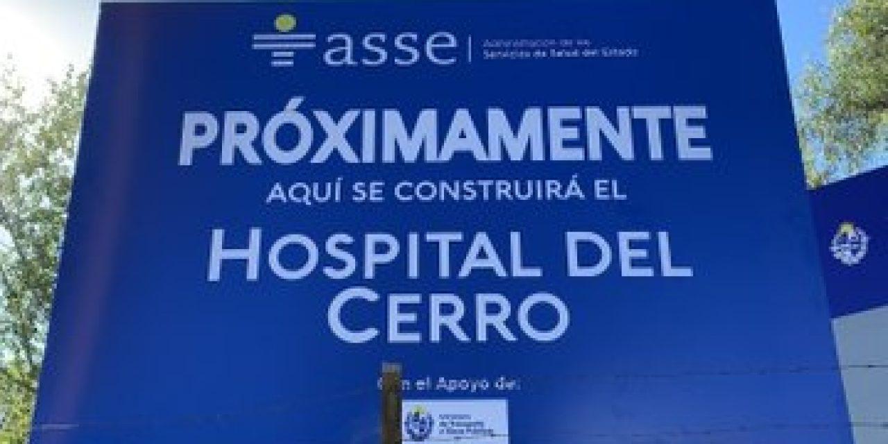 Comenzaron las obras de construcción del Hospital del Cerro