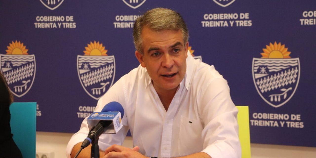 Intendente de Treinta y Tres, Mario Silvera dio positivo a Covid-19